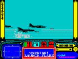 Harrier 7 ZX Spectrum 2 relentlessly MIGs chasing me and launching missiles.