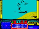 Harrier 7 ZX Spectrum Successful evasion.