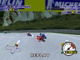 Moto Racer 2 PlayStation After your victory, you can watch your replay of the race.