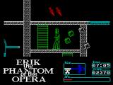 Erik: Phantom of the Opera ZX Spectrum Almost reaching the top.
