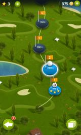 Pro Feel Golf Android Hole selection