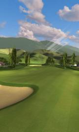 Pro Feel Golf Android Overview of hole