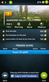 Pro Feel Golf Android Objectives