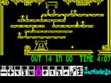Lemmings ZX Spectrum Using blockers to get your Lemmings to safety
