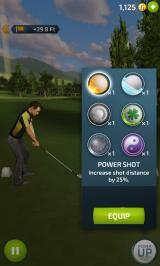 Pro Feel Golf Android Power up menu
