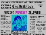 Paperboy ZX Spectrum The headlines, and choose a game controller