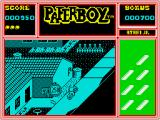 Paperboy ZX Spectrum Deliver papers to your customers