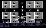 Match Wits Commodore 64 Title screen