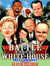 Battle for the White House J2ME Title screen