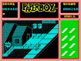 Paperboy ZX Spectrum Cause destruction of non customer houses for bonus points