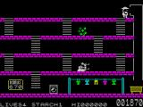 Mr. Wong's Loopy Laundry ZX Spectrum Level 1.<br>
