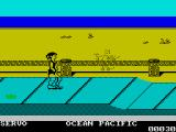 California Games ZX Spectrum Avoid obstacles while skating!