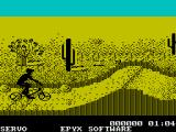California Games ZX Spectrum BMX bike racing