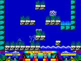 CJ's Elephant Antics ZX Spectrum Don't fall into the water