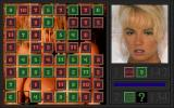 Penthouse Hot Numbers Deluxe DOS Typical gameplay, this time with Julie Smith