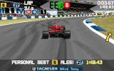 Power F1 DOS Second lap.
