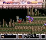 The Legend of the Mystical Ninja SNES The first jump'n run level in single-player mode