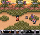 The Legend of the Mystical Ninja SNES Warlock Zone 2