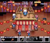 The Legend of the Mystical Ninja SNES At the entrance to another jump'n run level
