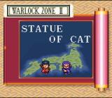 The Legend of the Mystical Ninja SNES Intro to the next Warlock Zone