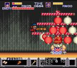 The Legend of the Mystical Ninja SNES A Boss-fight