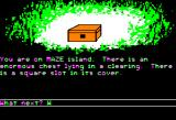Islands of Beta Apple II Treasure chest.