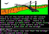 Islands of Beta Apple II A bridge across Key Island.
