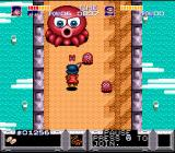 The Legend of the Mystical Ninja SNES The octopus from Parodius