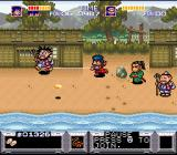 The Legend of the Mystical Ninja SNES On the fourth island