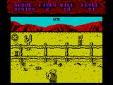 Shoot-Out ZX Spectrum Level 1, 1st part: Shooting cans<br>