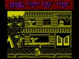 Shoot-Out ZX Spectrum Level 1, 2nd part: Enter the town<br>