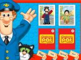 Postman Pat Activity Centre Windows A game of Snap in progress