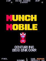 Munch Mobile Arcade Title screen