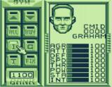 Speedball 2: Brutal Deluxe Game Boy Manager menu