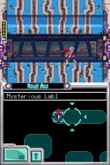 Mega Man ZX Advent Nintendo DS If you're a Rockman fan, you know what this hallway means...