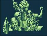 Speedball 2: Brutal Deluxe Game Boy Victory is ours!