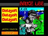 Bruce Lee ZX Spectrum Loading screen