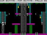 Bruce Lee ZX Spectrum Climbing is frequent movement in this game