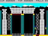 Bruce Lee ZX Spectrum A little warm-up by the falling bridge