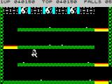 Bruce Lee ZX Spectrum Jumping is the key to complete this chamber
