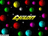 Exolon ZX Spectrum Title screen