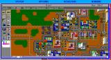 SimCity DOS Your City Map (EGA)