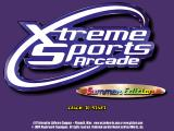 Xtreme Sports Arcade: Summer Edition Windows Title screen.