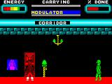 Skyscraper of Doom ZX Spectrum Alien creature