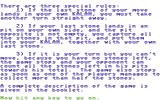 Kalah Commodore 64 Instructions, page 2