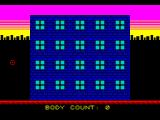 Gangsta City ZX Spectrum Game start up