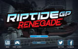 Riptide GP: Renegade Windows Title screen