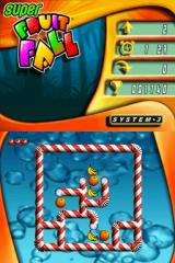 Super Fruitfall Nintendo DS Level 2 (arcade mode)