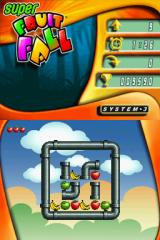 Super Fruitfall Nintendo DS Level 9 (arcade mode)