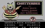 Chatterbee Commodore 64 Title screen